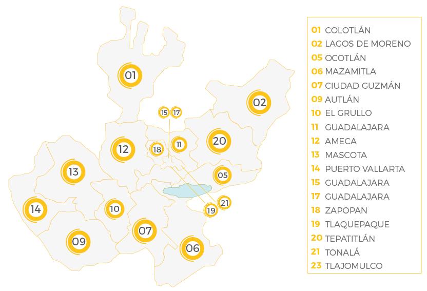 Regiones de Jalisco